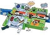 プラレール トミカと遊ぼうDX踏切ステーション