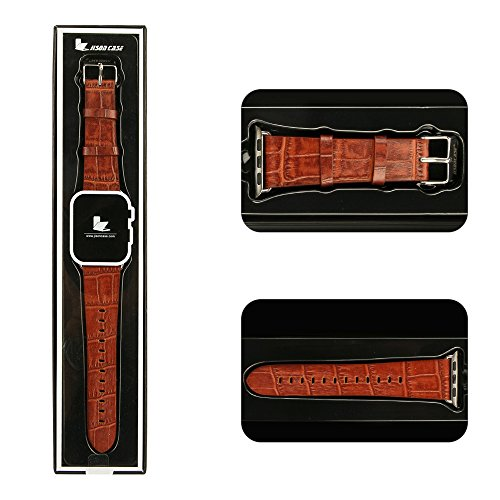 Apple-Watch-Leather-BandJisoncasse-Genuine-Leather-Wrist-Band-for-Apple-WatchSportEditionApple-iWatch-Replacement-Buckle-Strap-Watchband-Strap-Wrist-Band-38mm42mm