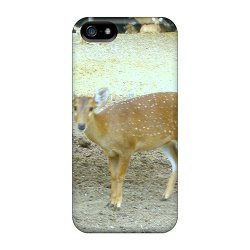 Mine World Spotted Deer Case For Iphone 5/5S Color Brown