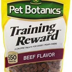 Cardinal Laboratories Pet Botanics Training Rewards Treats, Beef 20 Ounces
