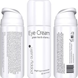 Poppy Austin® Best Eye Cream For Dark Circles And Puffiness. This Is A 100% Natural Eye Cream With Organic Moisturizers ★ It Is Twice The Size (30Ml) Of All Other Under Eye Creams ★ Directly Tackles Dark, Sagging, Baggy Eyes As Well As Fine Lines, Crows F