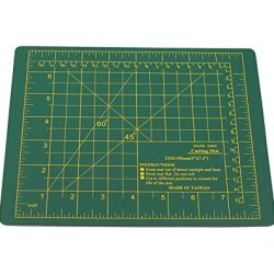 Se Cmg0975 Self-Healing Double Sided Cutting Mat, 9-Inch By 7.5-Inch, Green