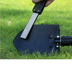 Docooler Taidea Multifunction Knives Grinder Sharpener Tool Pocket Two Side Diamond Outdoor Sharpening Stone T1051D