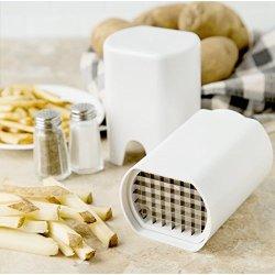 Potato Chipper Icooker Potato Slicer Cutter - Best For French Fries & Apple Slices - Potato Chips Waffle Maker