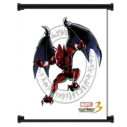 Marvel Vs Capcom 3 Firebrand Game Fabric Wall Scroll Poster (16X21) Inches