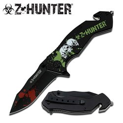 "Zombie Hunter ""Dark Lurker"" Tactical Rescue Knife - A Must Have For Hunters Of The Walking Dead"