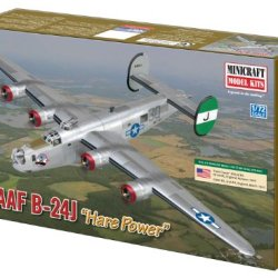Minicraft B-24H/J Usaaf With 2 Marking Options, 1/72 Scale