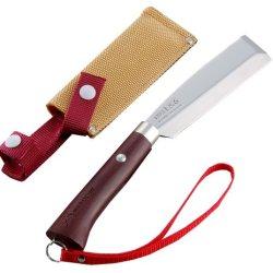 Tomita Nissaku Japanese Garden Machetes No. 4110 Stainless Steel Blade 1K-6 Hrc 58° With Strap
