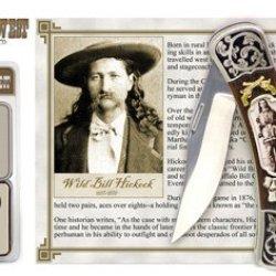 Legends Of The West Wild Bill Hickock Historic Pocket Knife