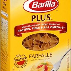 Barilla Plus Farfalle Pasta, 14.5 Ounce (Pack Of 12)