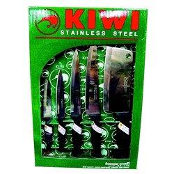 Kiwi Stainless Steel Multipurpose Knife Set 5 Pcs