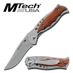 Mtech Usa Mt-033 Tactical Folding Knife 4.5-Inch Closed
