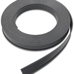 "Flexible Magnet Data Card Holder,  .125"" Thick, 1"" Height, 50' Length, 1 Roll"