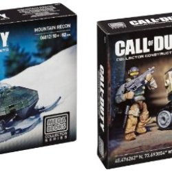 Call Of Duty Mountain Recon & Drone Attack Mega Bloks Bundle **2 Items** (Dispatched From Uk)