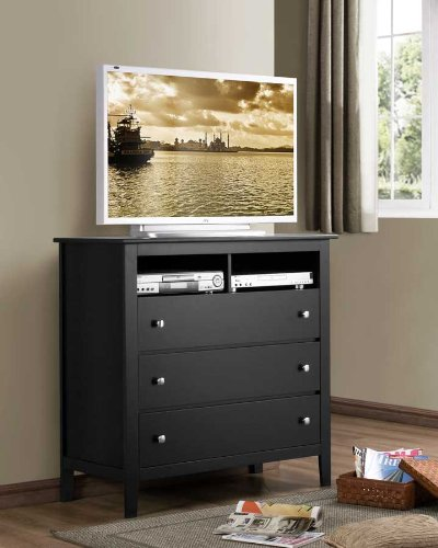 Image of Harris TV Stand By Homelegance (819BK-11)