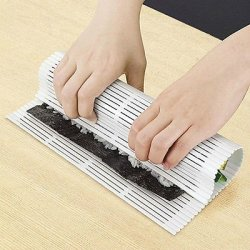 Diy Easy Japanese Sushi Roller Pad Plastic Mat Makers Magic Cooking Tool Home By Preciastore