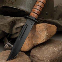 Budk Usmc Knife With Sheath