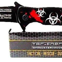 Tac-Force Speedster Model Tactical Rescue Outdoor Zombie Hunter Pocket Knife!