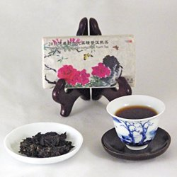 Denong Wild Pu-Erh Tea, 2013 Vintage, All-Natural, With Pu-Erh Pick