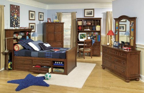 Image of 490 American Spirit Bookcase Bedroom Set by Legacy Classic Kids (B0030NO1TA)