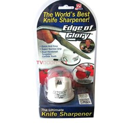Edge Of Glory Knife Sharpener Tungsten Carbide Teeth As S Een Popular On Tv Show