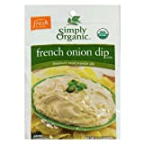 Simply Organic French Onion Dip, 1.1-Ounce Packets (Pack of 24)