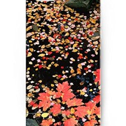 Iphone Case For Apple Phone 6 (4.7 Inch), Ukase Easy Snape-On Cover Cases With Original Design Of Leaves On The Rocks