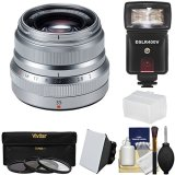 Fujifilm-35mm-f20-XF-R-WR-Lens-Silver-with-Flash-3-Filters-Diffusers-Kit-for-X-A2-X-E2-X-E2s-X-M1-X-T1-X-T10-X-Pro2-Cameras