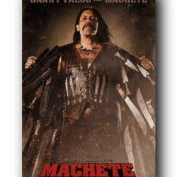 (24X36) Machete Movie Danny Trejo As Machete Poster Print