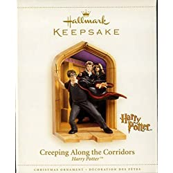 CREEPING ALONG THE CORRIDORS Harry Potter Hallmark Keepsake Ornament 2006