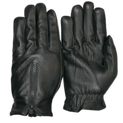Defender Leather Kevlar Gloves Cut Resistant / Security / Door Supervisor (Size L) The-Security-Store