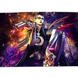 A Wide Variety Of Bayonetta Game Characters Desk & Mouse Pad Table Play Mat (Bayonetta 12)