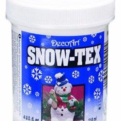 Decoart Das9-4 Snow-Tex, 4-Ounce