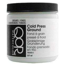 Qor Watercolor Cold Press Ground 8 Oz