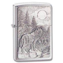 Zippo Timberwolves Emblem Lighter