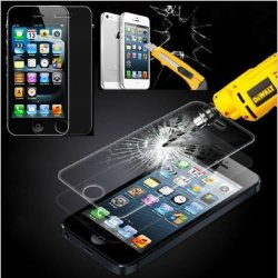 [Rounded] 100% High Quality Anti-Scratch 2.5D 9H Tempered Glass Film Screen Protector For Apple Iphone 4 4G 4S