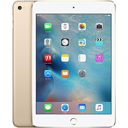 iPad mini 4 Wi-Fiモデル MK6L2J/A (16GB・ゴールド)