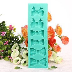 Bow Tie Cake Mold Silicone Fondant Mould