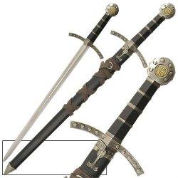 Crusader Knights Of Templar Short Medieval Cosplay Sword Dagger