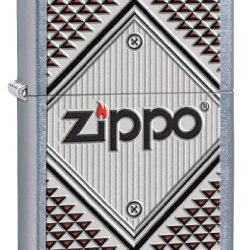 Zippo Pocket Lighter With Chrome Finish