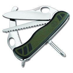 Victorinox Hunter Xt Swiss Army Knife With Pouch, 111 Mm, Green