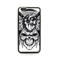 "Casecityliu - Knifes Into The Head Skull Pattern Design Plastic+Tpu Case Cover For Apple Iphone 6 Plus 6Th 6Generation 5.5"" Inch"