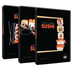 How To Cook Sushi . The Essential Guide To Making Sushi History , Ingredients , Preparation & Garnishing For Adults & Children 3 Dvd Set