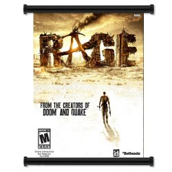 "Rage Game Fabric Wall Scroll Poster (16""X 20"") Inches"