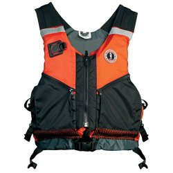 The Amazing Quality Mustang Shore Based Water Rescue Vest - Xs/S - Orange/Black
