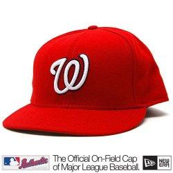Washington Nationals Mlb Authentic Baseball Cap 7-3/8 Osfa - Like New.