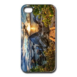 Art Momax Rocky Shore Hdr Cell Phone 4S Cover