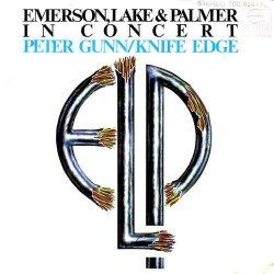 Emerson, Lake & Palmer - In Concert: Peter Gunn/Knife Edge - Ariola - 100 824, Ariola - 100 824 - 100