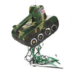 Papiermache Tank Pinata