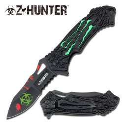 "Z-Hunter ""The Relic"" Knife - Green - A Must Have For Zombie Hunters"
